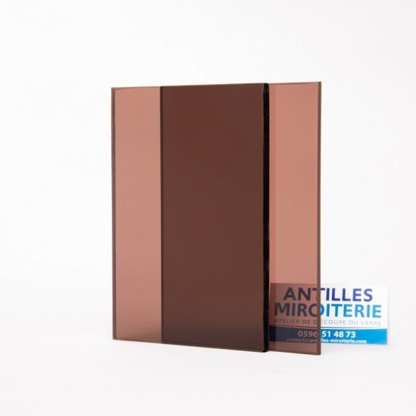 Altuglas - Plexiglas CN Fumé Bronze 8mm