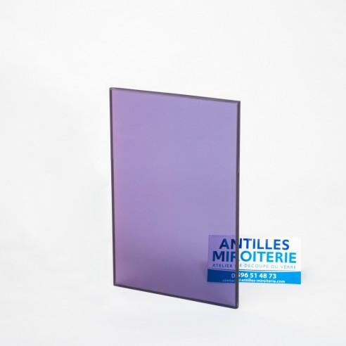 Altuglas - Plexiglas CN Fumé Bleu Gris 6mm