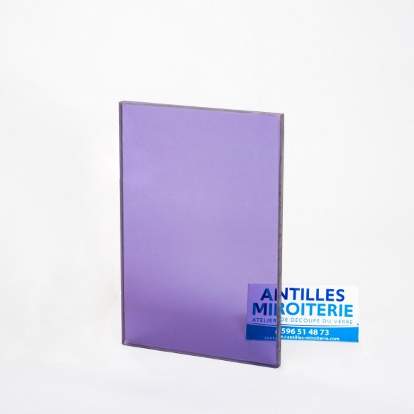 Altuglas - Plexiglas CN Fumé Bleu Gris 8mm