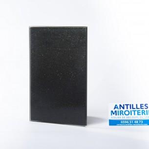 Crédence Lacobel Noir pailleté Starlight - 0337