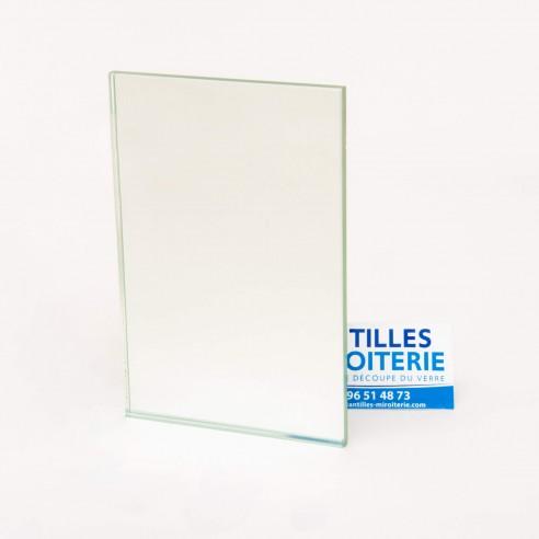 Miroir glace argentée claire 4mm sans film   Antilles Miroiterie